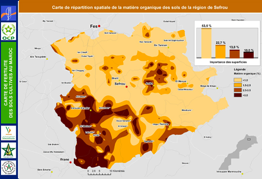 Fertimap Carte De Fertilite Des Sols Cultives Au Maroc Fertimap